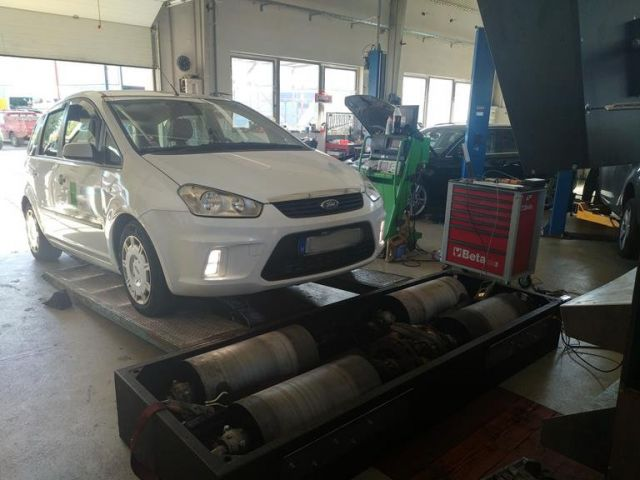 Ford C Max 1.6 TDCI 90 le chiptuning, 1. kép - Ford C Max 1.6 TDCI 90 le chiptuning