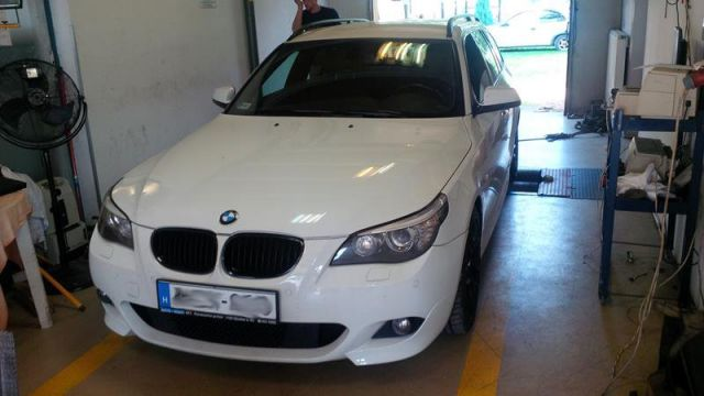 BMW E61 520d chiptuning fékpadi optimalizálás , 3. kép - BMW chiptuning