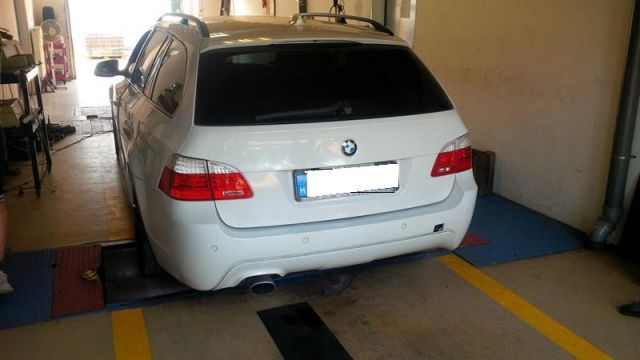 BMW E61 520d chiptuning fékpadi optimalizálás , 10. kép - BMW E61 520d Chiptuning